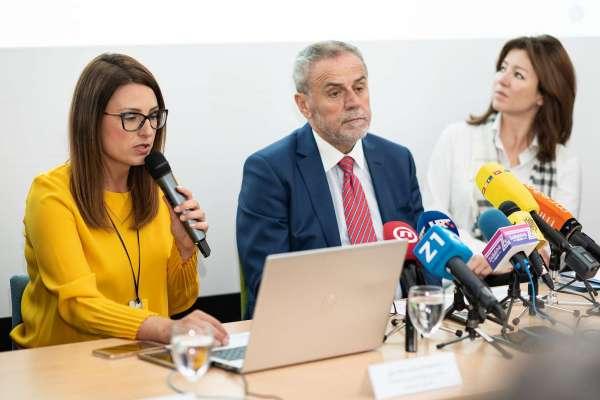 Mia Pećina Drašković, Milan Bandić, Martina Bienenfeld